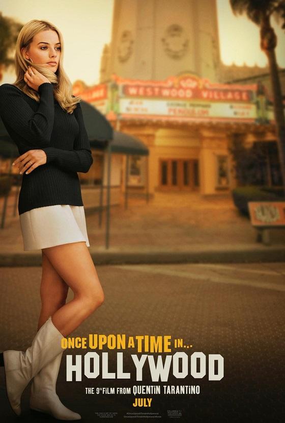 Постер фильма «Однажды в Голливуде»