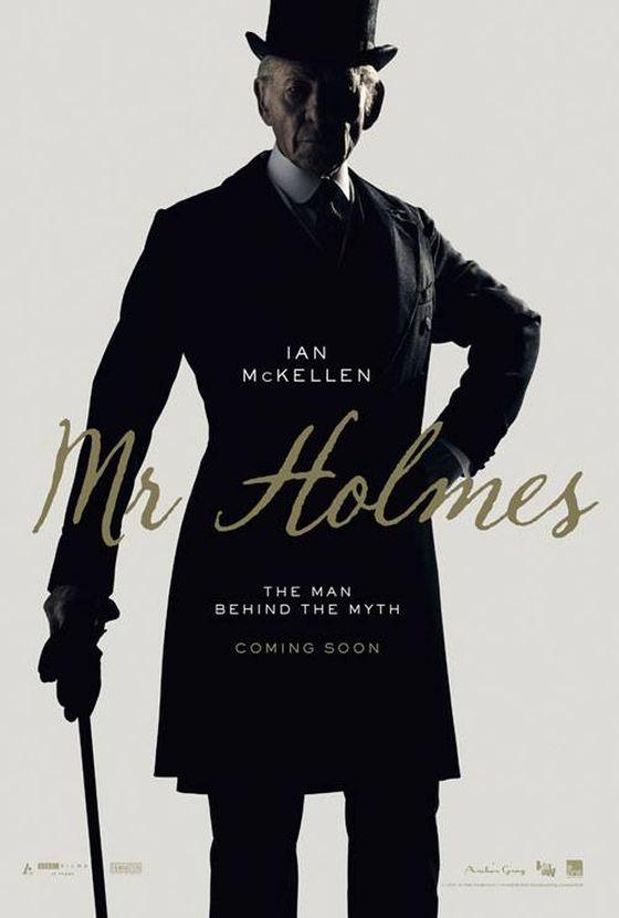 Постер фильма «Мистер Холмс»