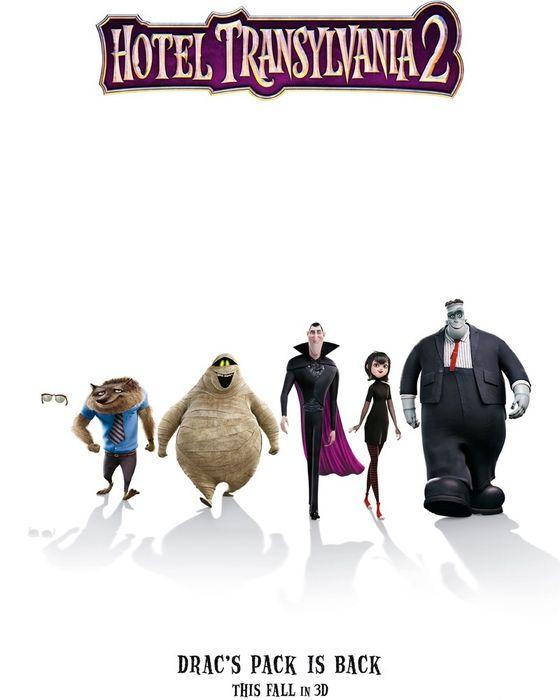 Постер мультфильма «Монстры на каникулах-2»
