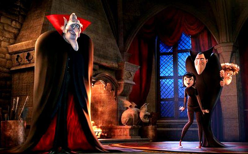 Кадр из мультфильма «Монстры на каникулах»