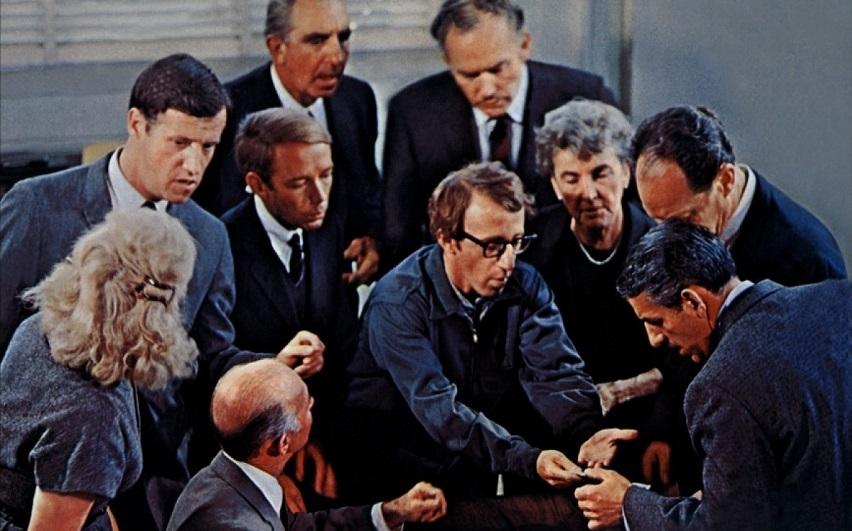 Кадр из фильма «Хватай деньги и беги»