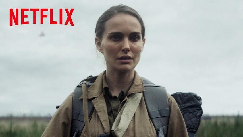 Кадр из Netflix-фильма «Аннигиляция»