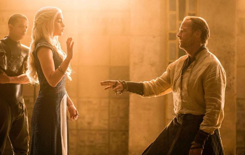 Кадр из четвертого сезона «Игры престолов»