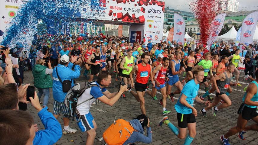 В городском марафоне в 2018 году примут участие 7 тысяч екатеринбуржцев