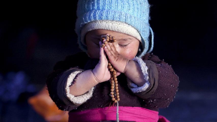 Интуитивная Медитация. 2010. Северная Индия, Ладакх, Дворец Ше. Цифровая печать