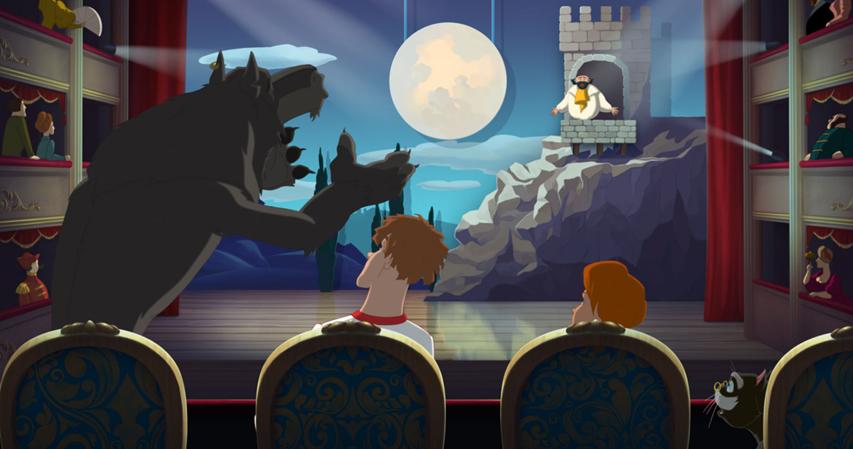 Кадр из фильма «Иван Царевич и Сервый Волк 3»