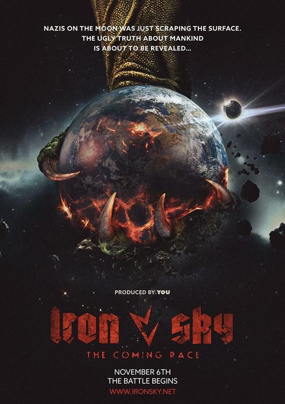 Постер фильма «Железное небо: Грядущая раса»
