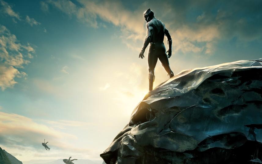 Постер фильма «Черная пантера»