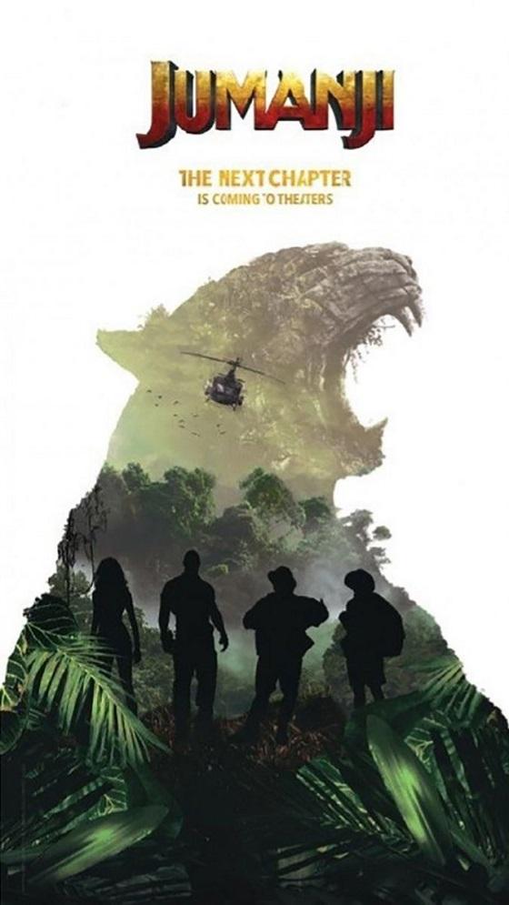 Тизер-постер фильма «Джуманджи: Новая глава»