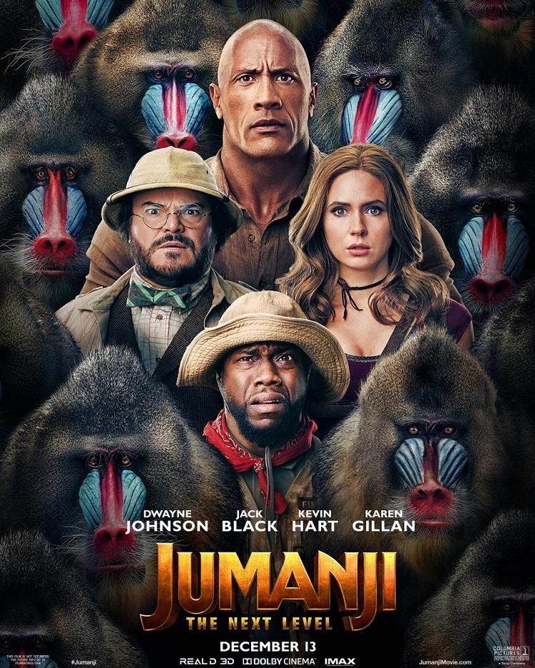 Постер фильма «Джуманджи 3»