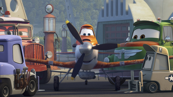 Кадр из мультфильма «Самолеты»