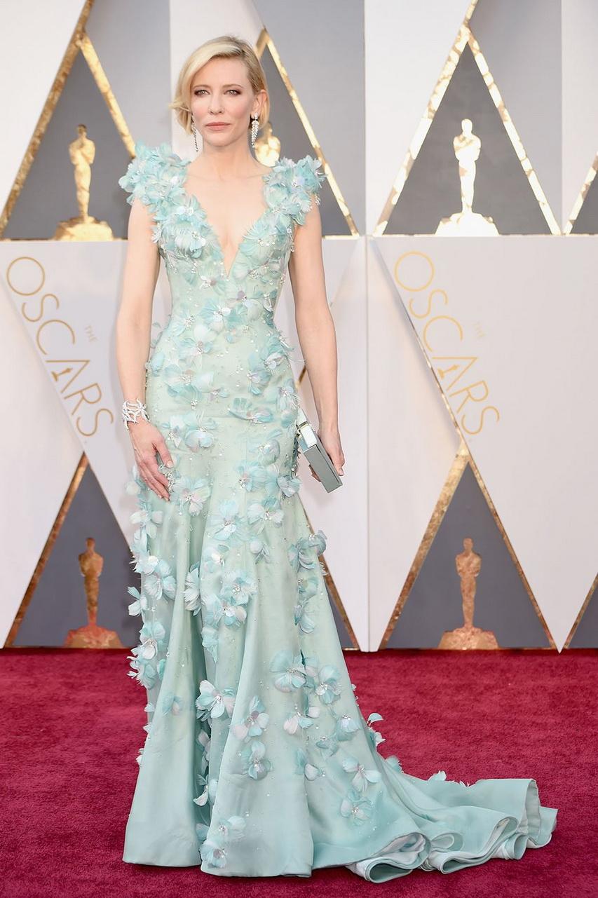 Актриса Кейт Бланшетт нацеремонии вручения премии «Оскар»-2016. Фото ссайта hollywoodreporter.com