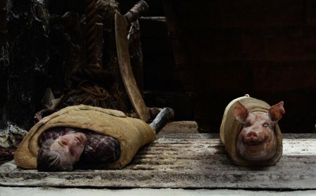 Блюдо дня — рулетики с МакГрегором. Кадр из фильма «Джек — покоритель великанов»