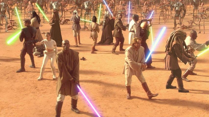 Кадр из сериала «Звездные войны: Эпизод 2 – Атака клонов»