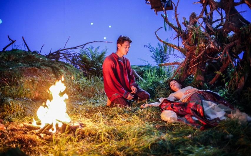 На съемках фильма «Конек-горбунок». Фото с сайта kinopoisk.ru