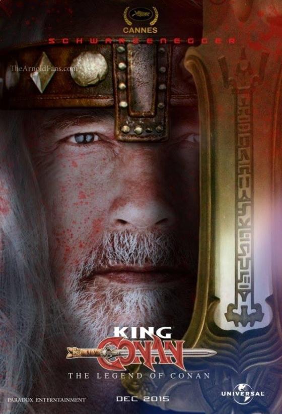 Фан-постер фильма «Легенда о Конане»