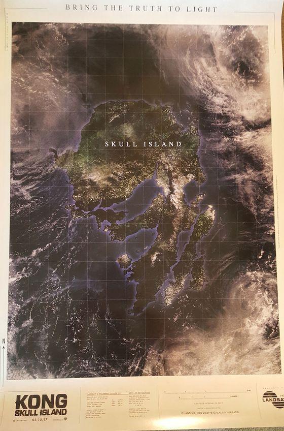 Промо фильма «Кинг-Конг: Остров Черепа»
