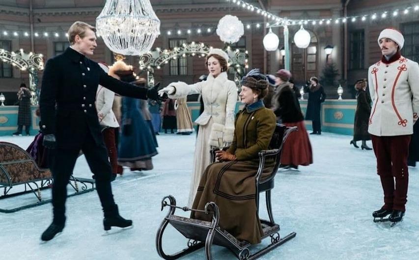 Кадр из фильма «Серебряные коньки»