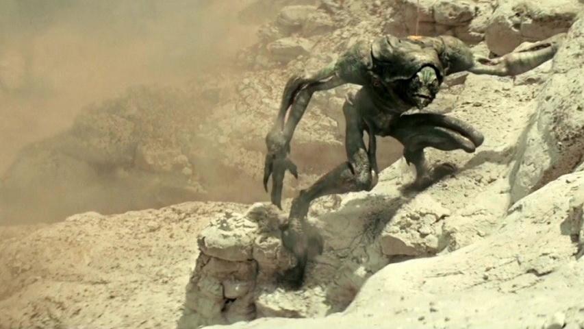 Кадр из фильма «Ковбои против пришельцев»