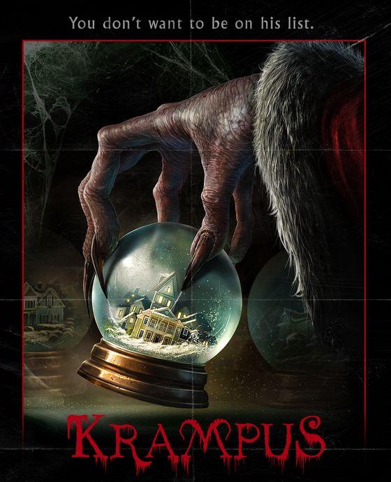 Постер фильма «Крампус»