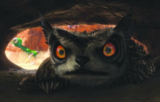 Кадр из мультфильма «Семейка Крудс»