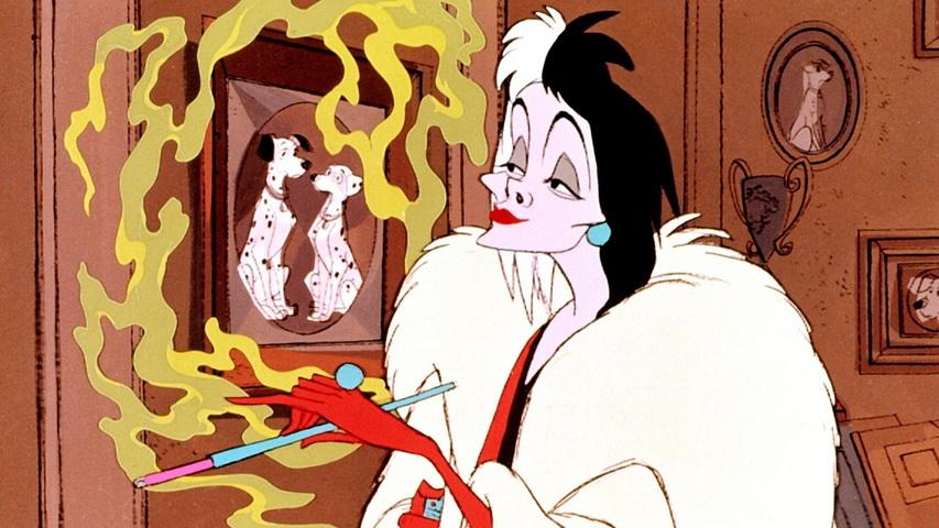 Кадр из мультфильма «101 долматинец»