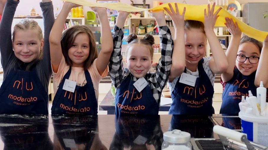 В стдуии вкуса «Модерато» из ребенка сделают настоящего шеф-повара!