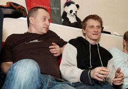 Юрий Облеухов и Олег Ягодин. Фото Антона Панкова