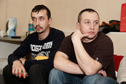 Василий Скородинский и Юрий Облеухов. Фото Антона Панкова