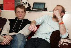 Олег Ягодин и Александр Вольхин. Фото Антона Панкова