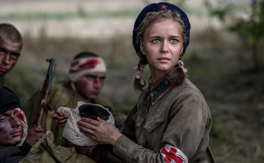 Кадр из фильма «Подольские курсанты»