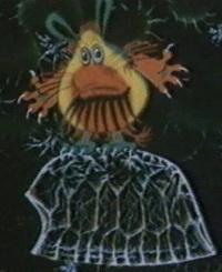 Кадр из мультфильма «Фантик (первобытная история)»