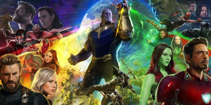 Постер к фильму «Мстители: Война бесконечности»