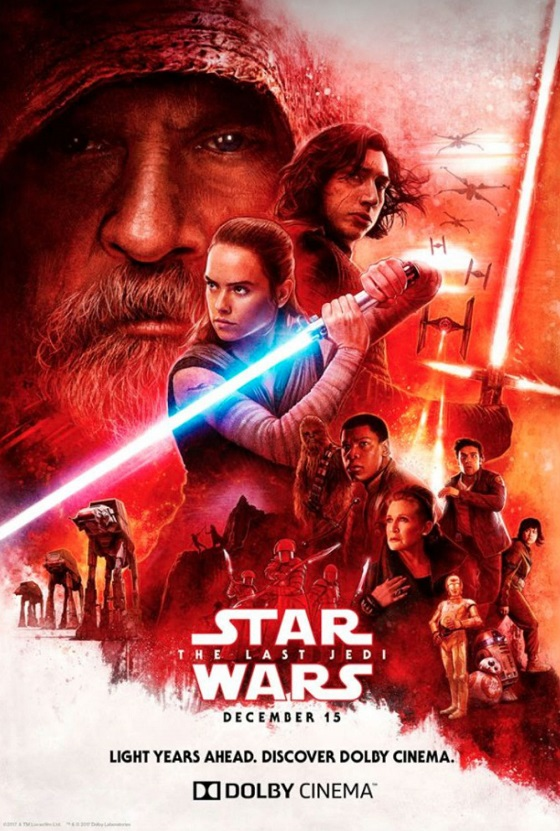 Постер фильма «Звездные войны. Последние джедаи»