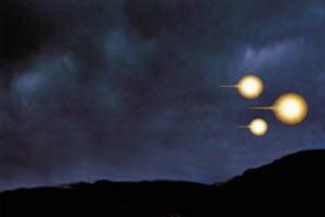 Летящие шары в небе. Изображение с сайта pronlo.net