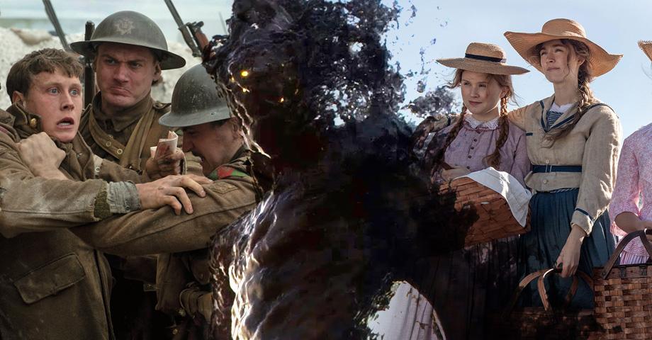 Новые фильмы в кино: Кома, 1917, Маленькие женщины, Гретель и Гензель. Коллаж © Weburg.net
