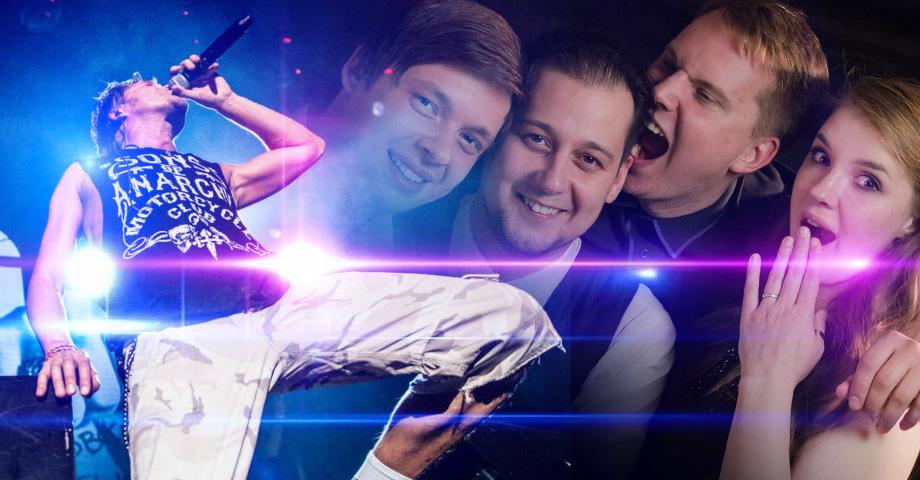 Концерты в выходные в Екатеринбурге: Аватара & АнтиТема, .F.P.G, перформанс Праздник быть собой. Коллаж © Weburg.net