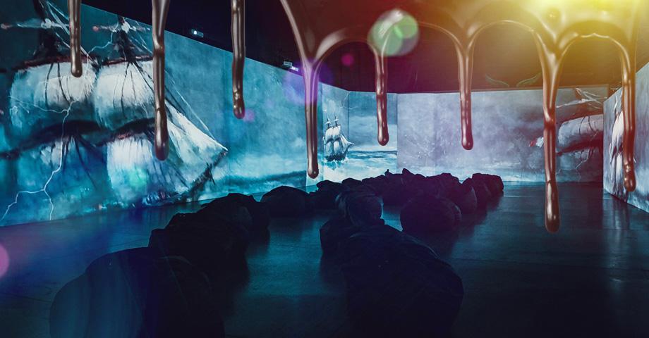 Выставки и экскурсии в Екатеринбурге в феврале 2020: выставка шоколада Искусства шоколада, мультимедийный проект Айвазовский, творческая встреча с Леонидом Парфновым. Коллаж © Weburg.net