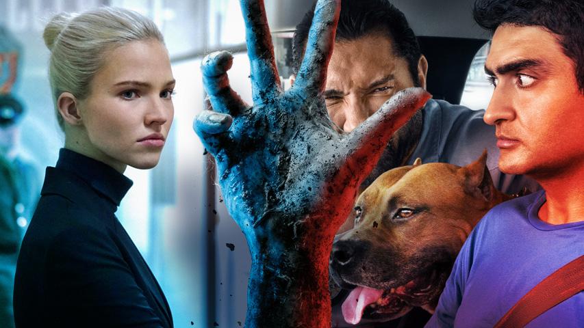 Новые фильмы в кино: Анна, Али, рули! Мертвые не умирают, Красавчик со стажем, Присягнувшая тьме. Коллаж © Weburg.net