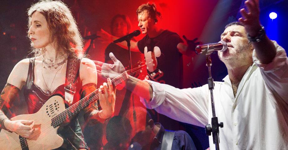На какие концерты сходить в Екатеринбурге в выходные с 8 по 10 ноября, обзор. Коллаж © Weburg.net