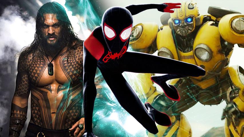 В прокате с этой недели: Аквамен, Бамблби, Человек-паук, Гринч