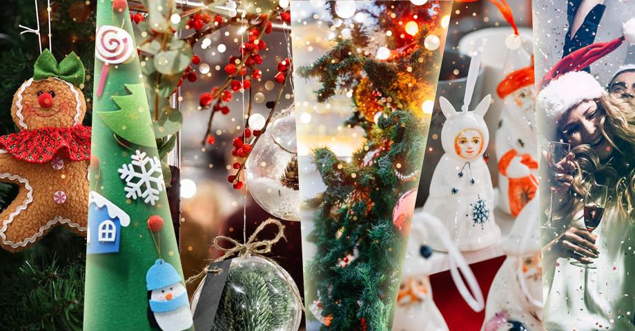 Главные развлечения выходных в Екатеринбурге с 20 по 22 декабря: взрослая Елка 18+ в Музее об этом, детские елки, фестиваль Sandarina. Коллаж © Weburg.net