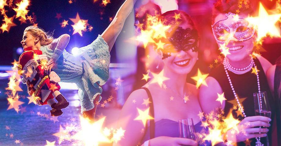 Чем заняться в новогодние каникулы 2020 в Екатеринбурге, обзор: Елка 18+ в Музее об этом, гастроли цирка Cirque du Soleil, ледовое шоу Ильи Авербуха Щелкунчик. Коллаж © Weburg.net
