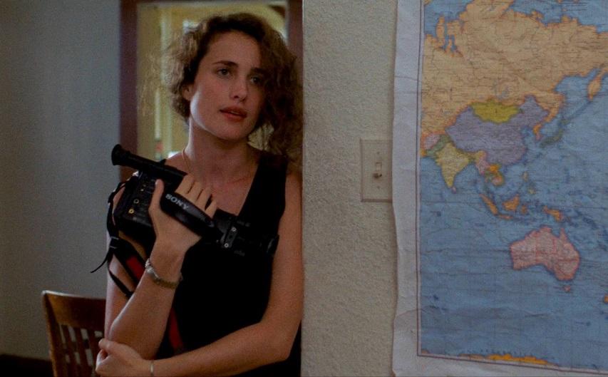 Кадр из фильма «Секс, ложь и видео»