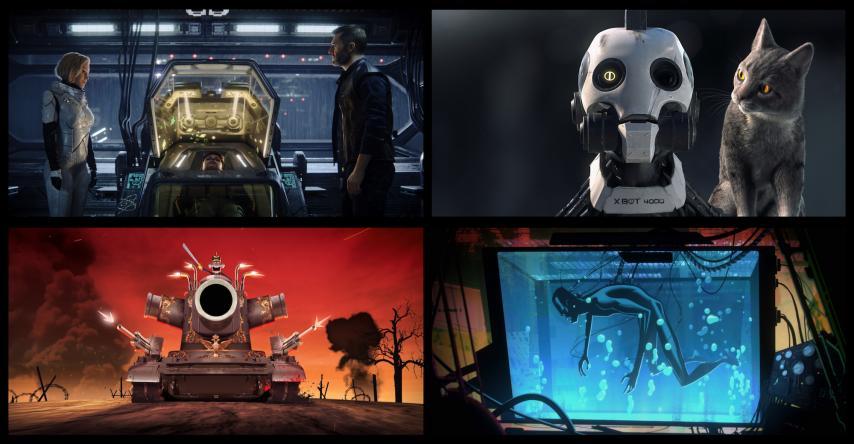 Кадр из сериала «Любовь, смерть и роботы»
