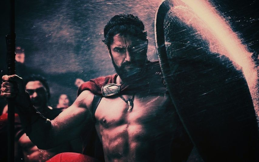 Кадр из фильма 300 спартанцев