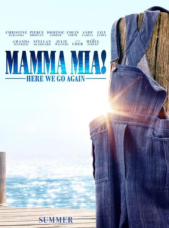 Постер фильма «Мамма Миа! 2»