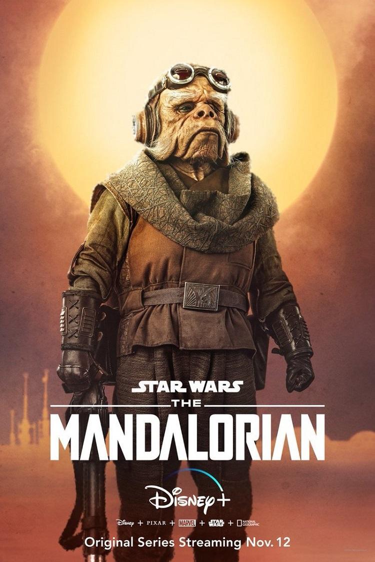 Постер сериала «Мандалорец»