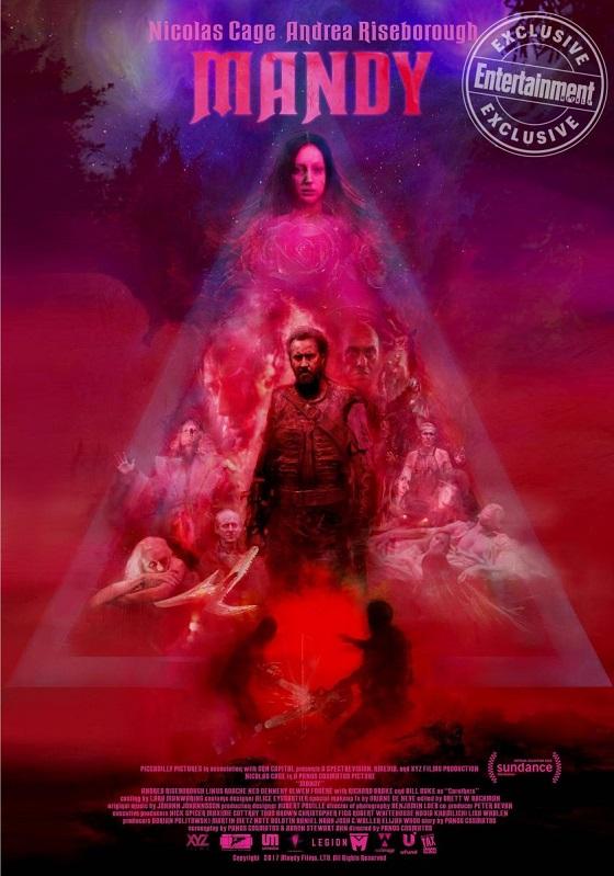 Постер фильма «Мэнди»