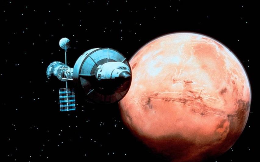 Кадр из фильма «Миссия на Марс»